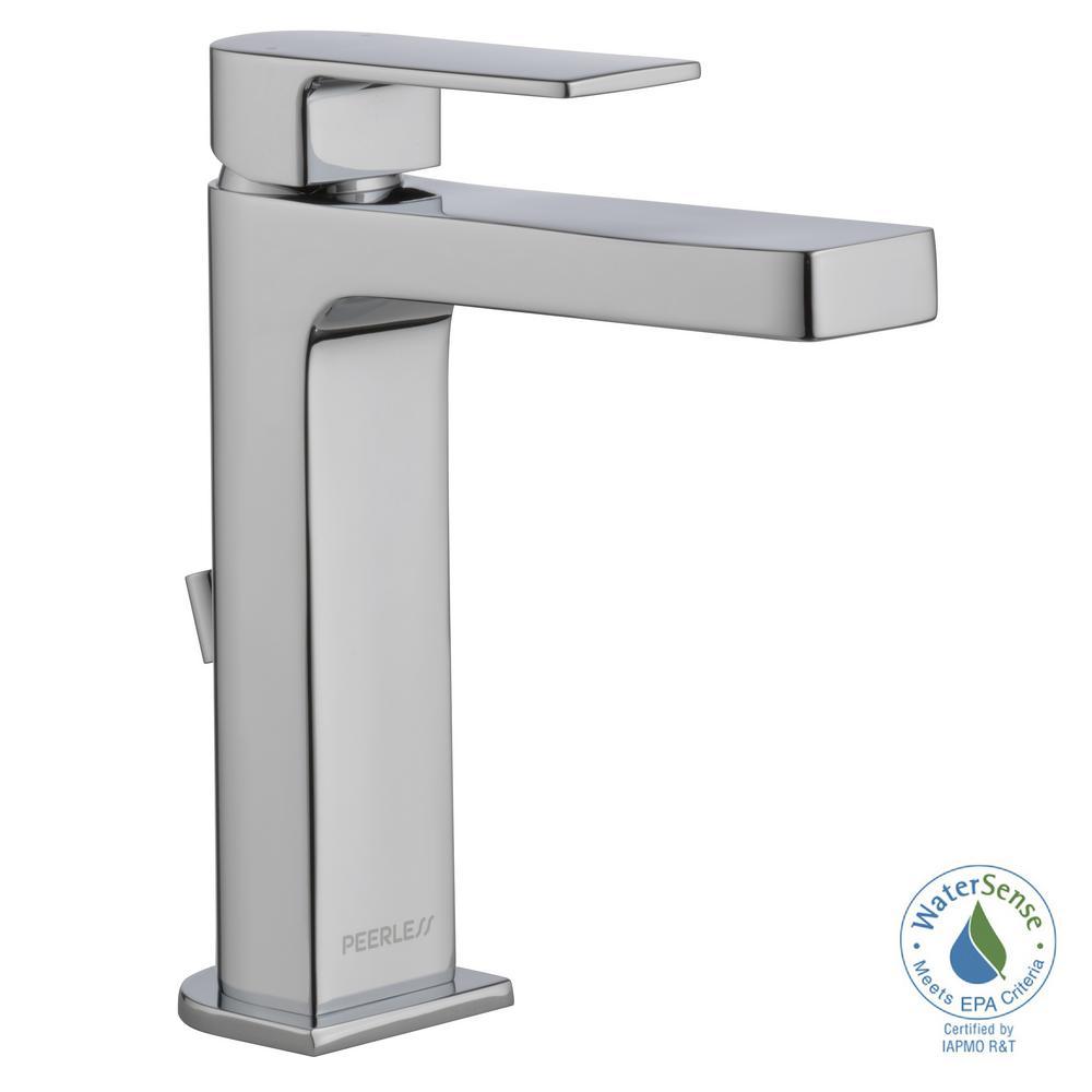 Peerless Bathroom Faucets: Peerless Xander 4 In. Centerset Single-Handle Bathroom