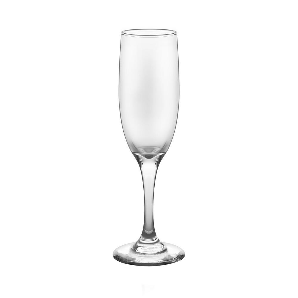 Catawba 6 fl. oz. Flute Glass Set (12-Pack)