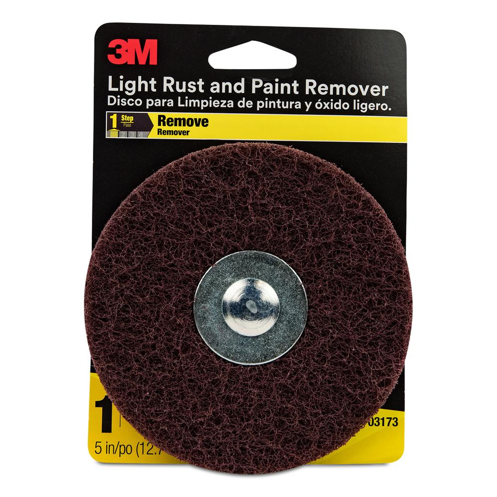 3M 5 in  Light Rust and Paint Remover