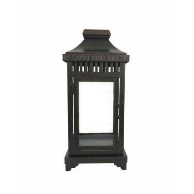16 in. Bronze Steel Lantern