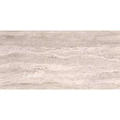 Pietra Trevi White 16 in. x 32 in. Polished Porcelain Floor and Wall Tile (10 cases / 106.7 sq. ft. / pallet)