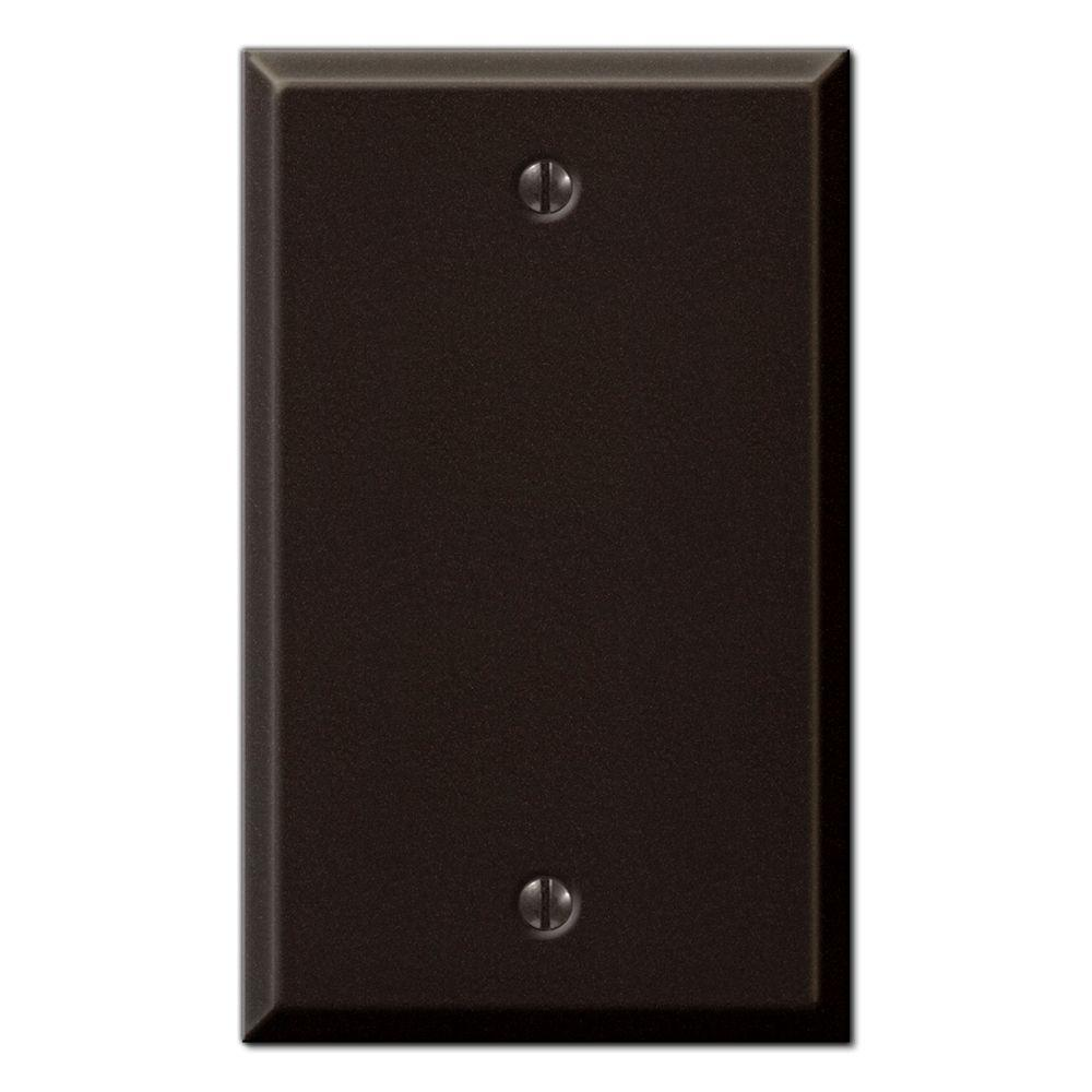 Creative Accents Steel 1 Toggle Wall Plate - Antique Bronze