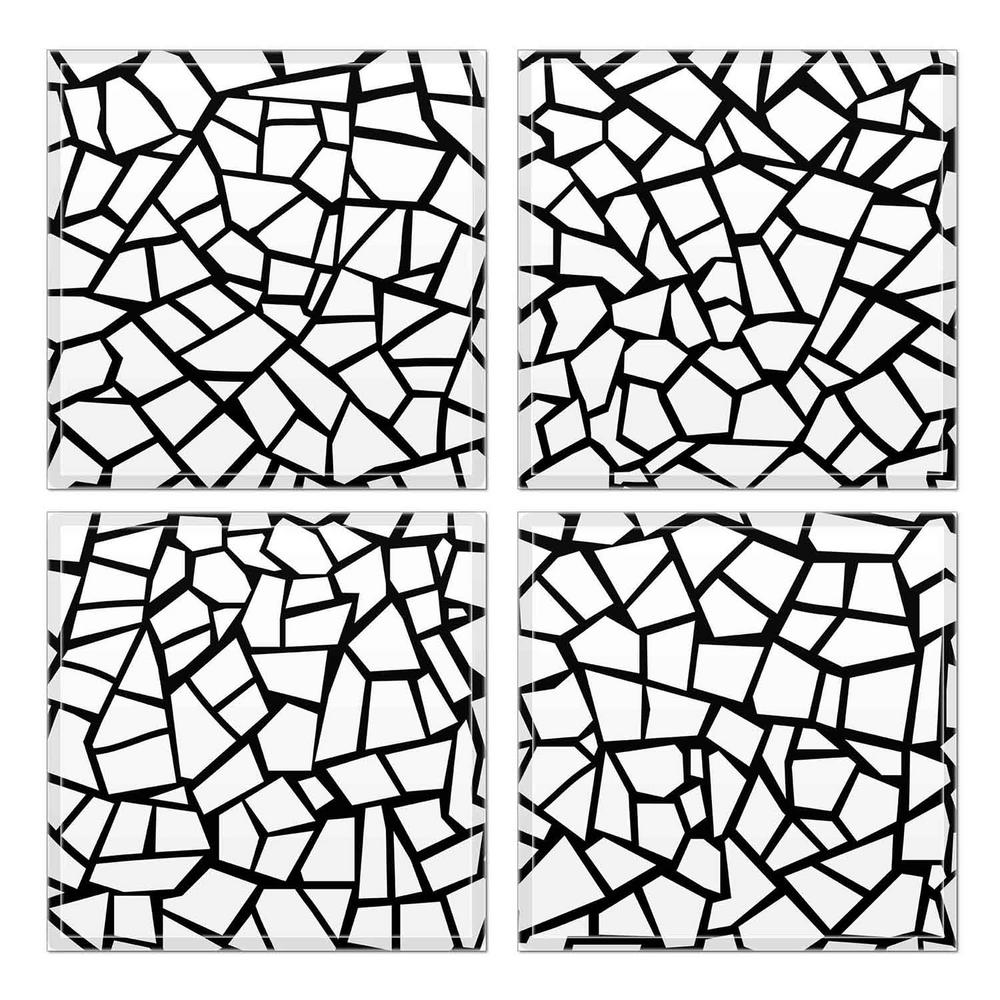 6 in x 6 in x 6mm crystal beveled glass mosaic wall tile 7 8 sq Bing Weather Tile 6 in x 6 in x 6mm crystal beveled glass mosaic wall tile 7 8 sq ft set of 32 1430103 the home depot