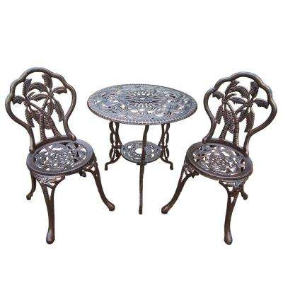 Palm 3-Piece Patio Bistro Set