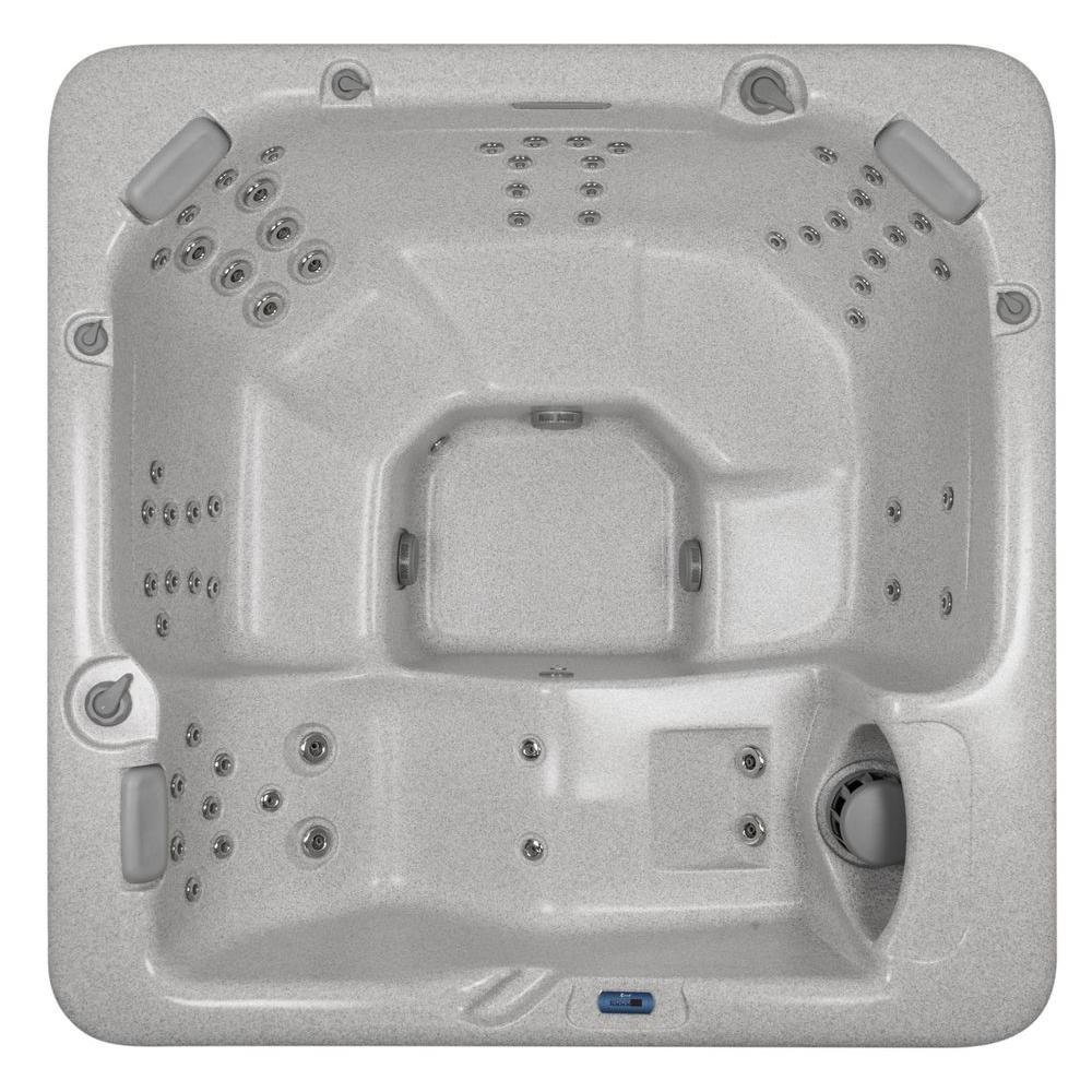 Summit Hot Tubs Telluride 6-Person 60-SS Hydrotherapy Jet Spa with Lounger and Waterfall