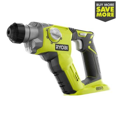 18-Volt ONE+ Lithium-Ion Cordless 1/2 in. SDS-Plus Rotary Hammer Drill (Tool Only)