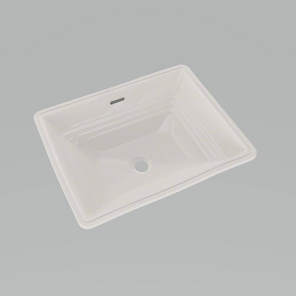 Toto Promenade 19 In Undermount Bathroom Sink In Cefiontect Colonial White Lt533 11 The Home