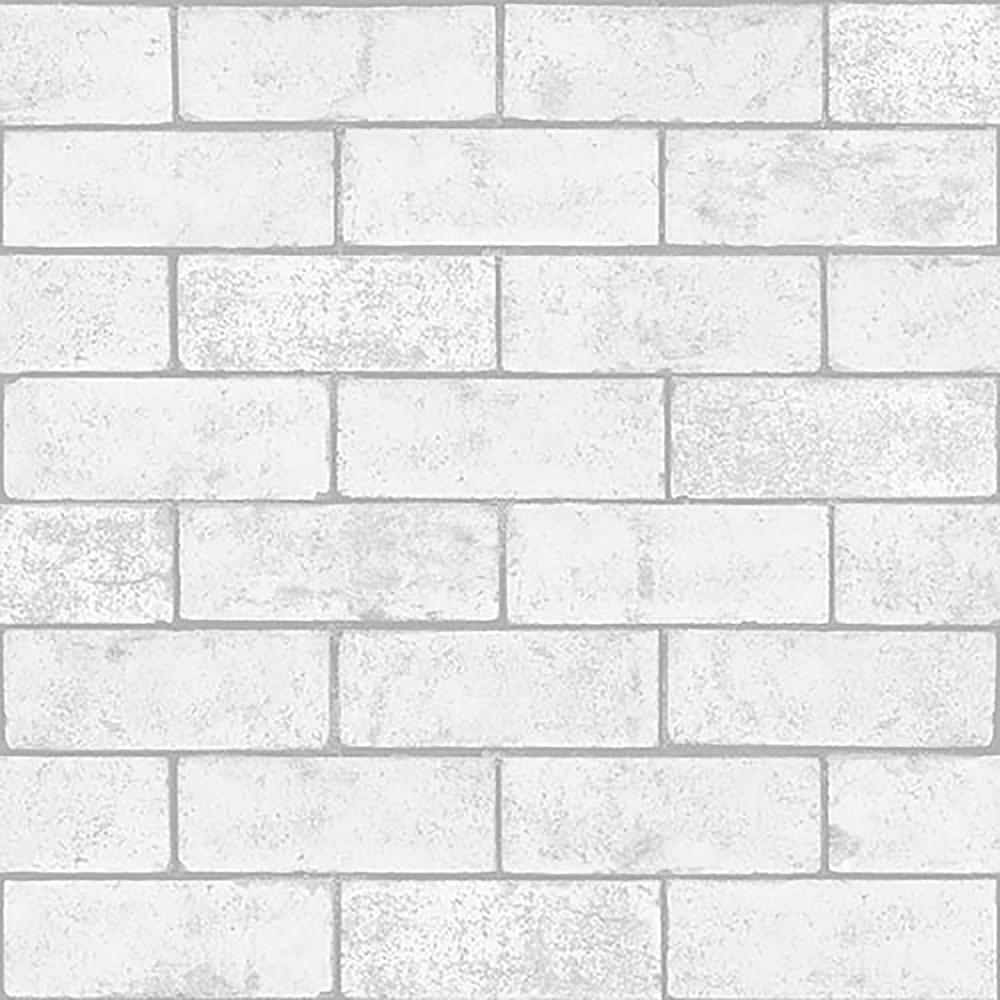 8 in. x 10 in. Kirsten White Industrial Brick Sample