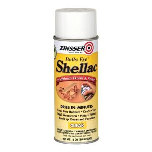 Zinsser 12 Oz Clear Shellac Spray 408 The Home Depot