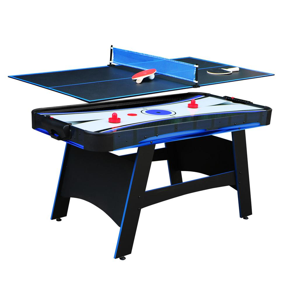 Hathaway 5 Ft Bandit Air Hockey Table With Tennis Top