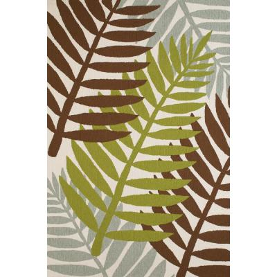 United Weavers Panama Jack Signature Sunbelt Lime 5 ft. x 7 ft. 6 in. Area Rug, Green