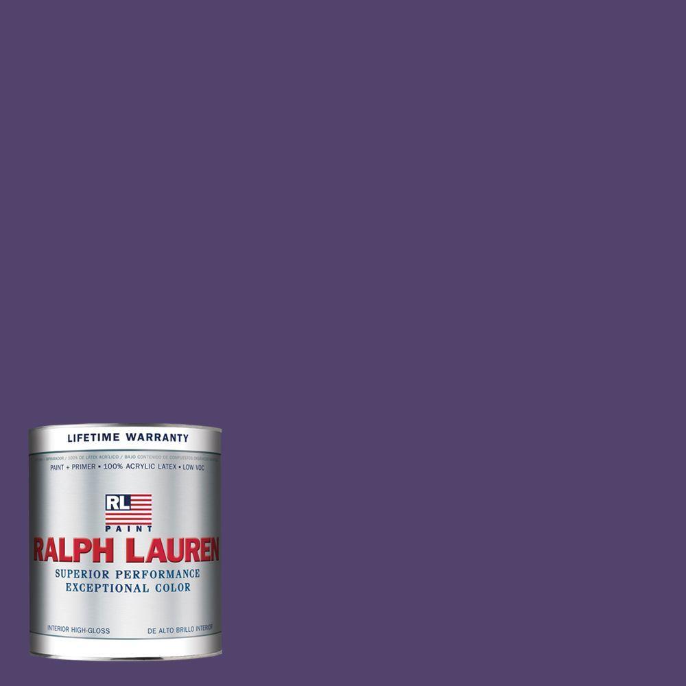 Ralph Lauren 1-qt. Academy Purple Hi-Gloss Interior Paint