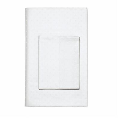 Legends Luxury Dot Supima Sateen Fitted Sheet