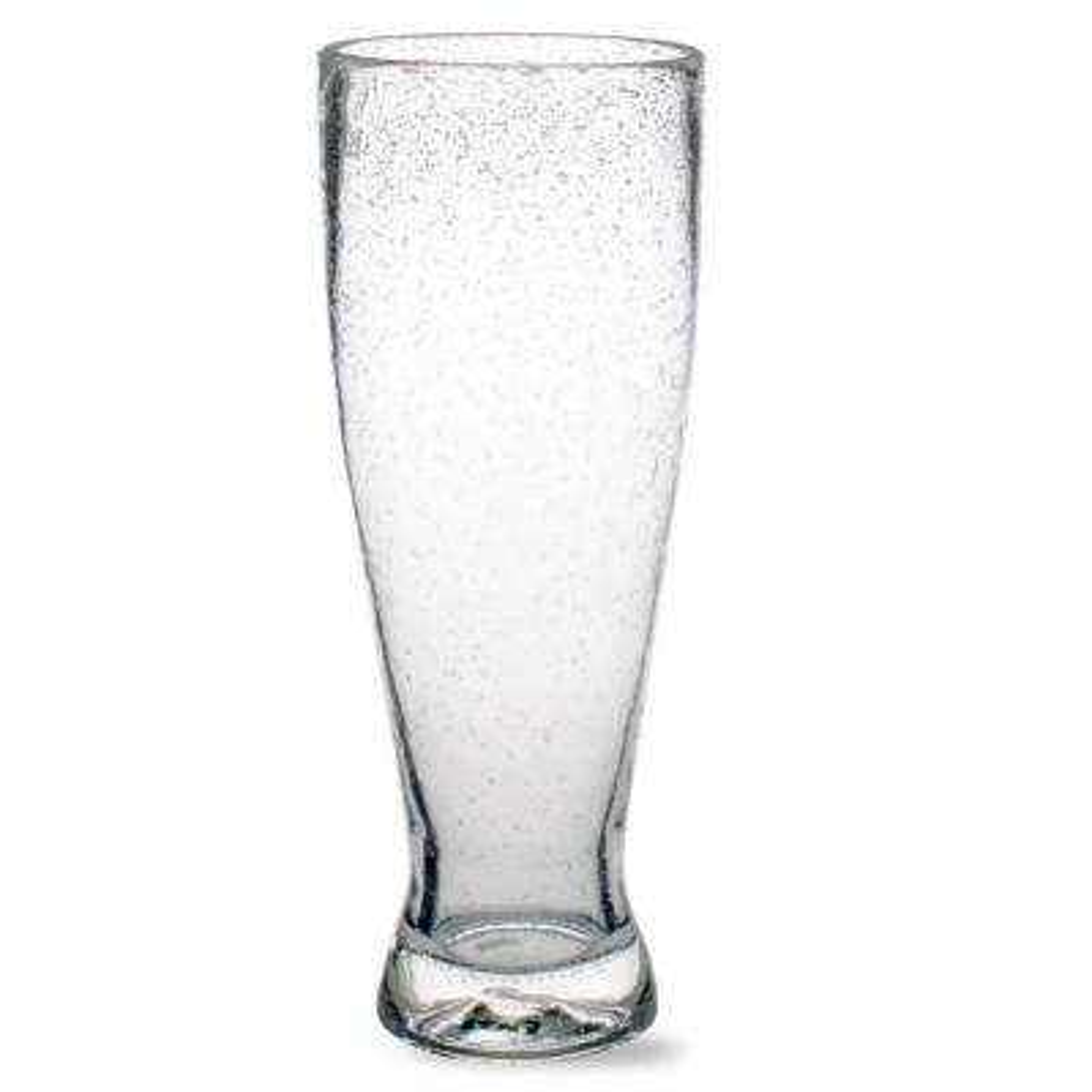 25 oz. Bubble Glass Clear Pilsner (Set of 6)