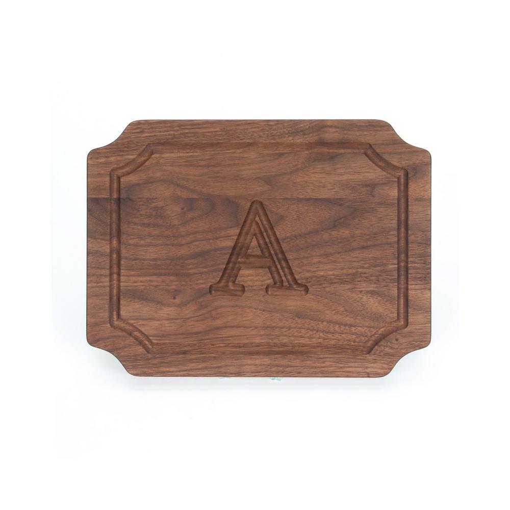 BigWood Boards Scalloped Walnut Cheese Board A W300-A