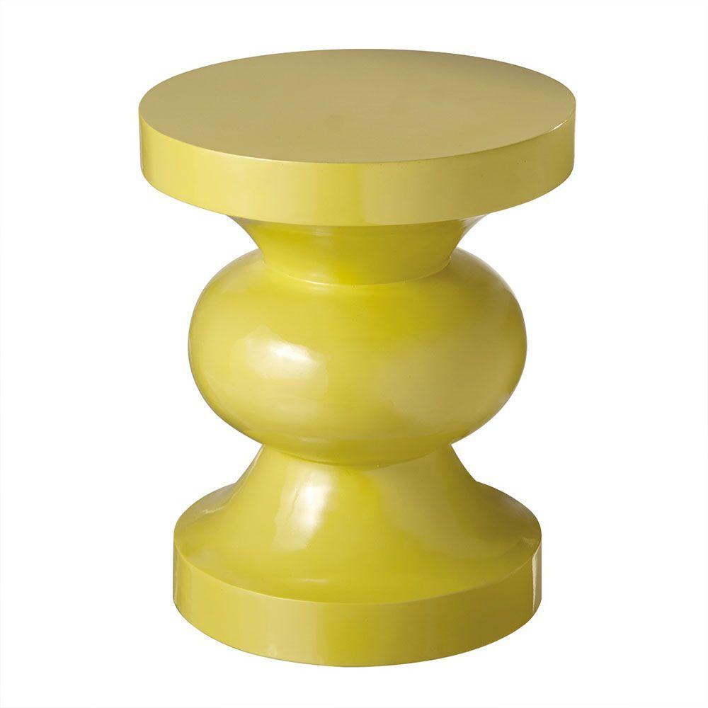 Sundry Yellow Resin Stool