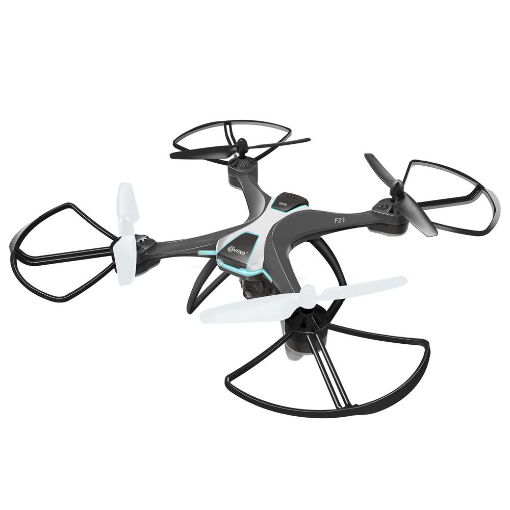 F21 RC Remote App Controlled Quadcopter Drone and Adjustable Wide-Angle 1080p