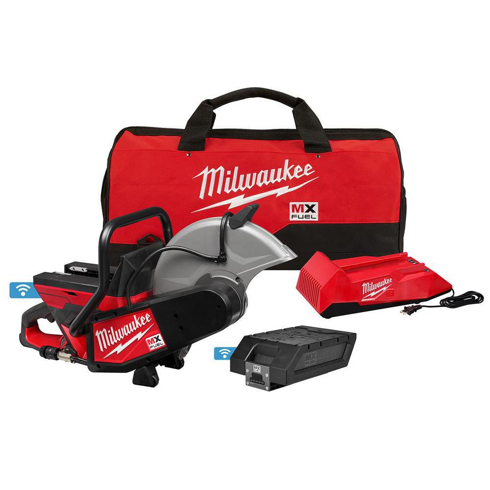 Milwaukee MX FUEL Lithium-Ion Cordless 14 in. Cut Off Saw with Battery and Charger
