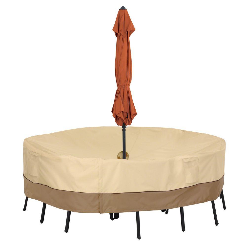 classic accessories veranda small round patio set cover with