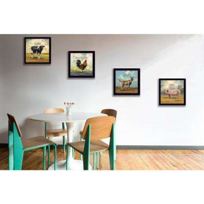 """Farm Animals"" by Bonnie Mohr Framed Wall Art"