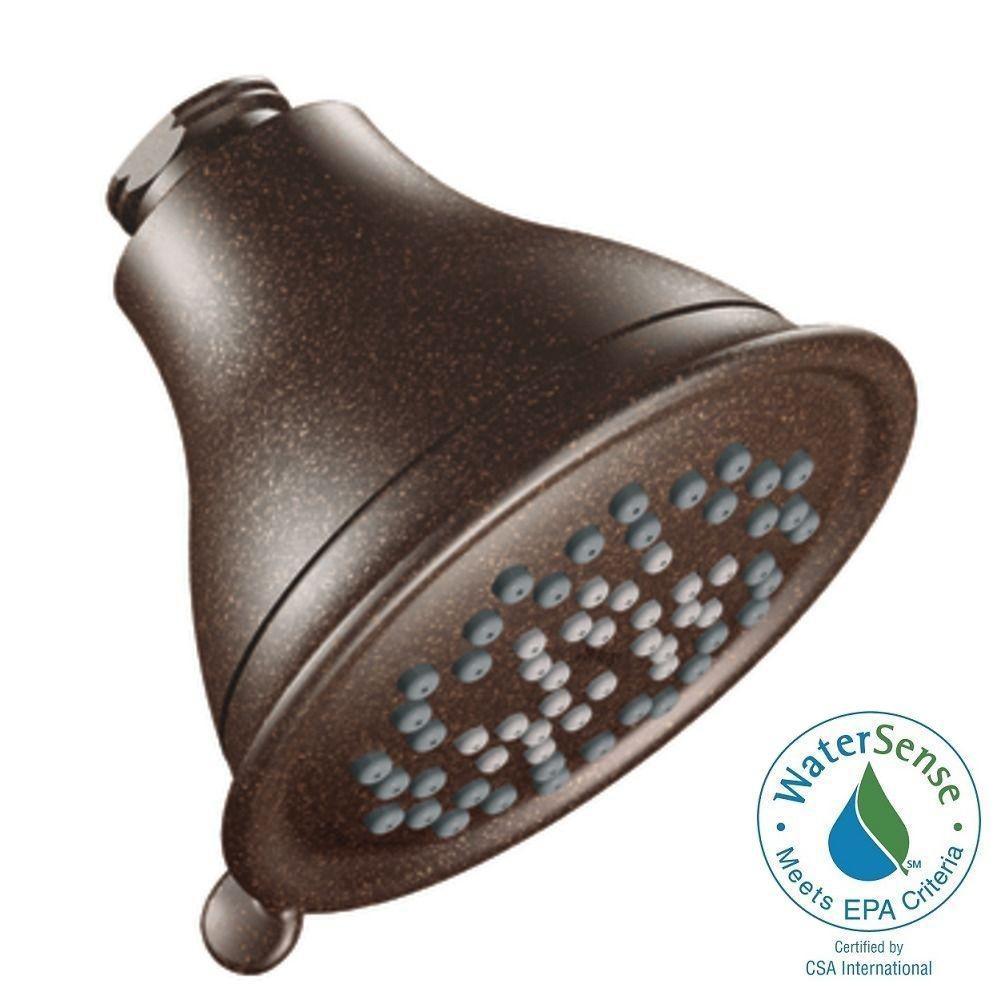 Envi 3-Spray 4 in. Shower Head in Oil Rubbed Bronze