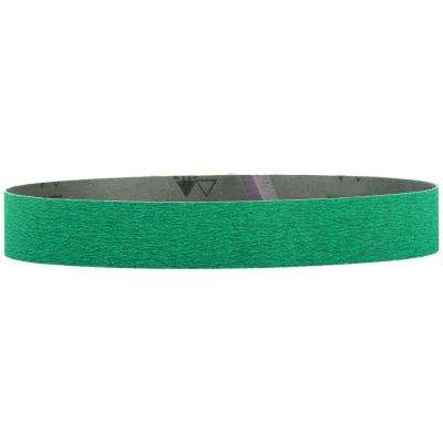 1-1/2 in. x 30 in. 60-Grit Ceramic Abrasive Belt (10-Pack)
