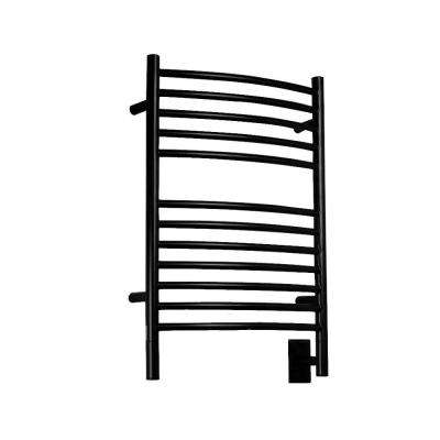 Jeeves E-Curved 20.5 in. W x 31 in. H 12-Bar Electric Towel Warmer in Oil Rubbed Bronze
