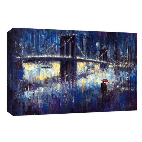 PTM Images 10 in. x 12 in. ''Evening Romance'' By Canvas