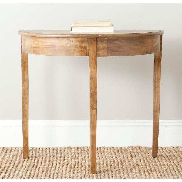 Sema Oak Console Table
