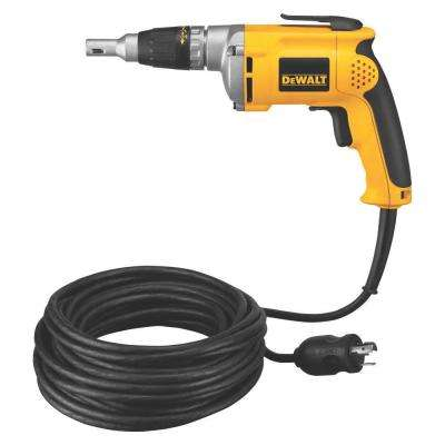 6.3-Amp 4,000 RPM VSR Drywall Screw Gun with 50 ft. Cord and Twist Lock