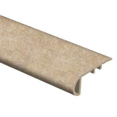Breezy Stone 1 in. Thick x 2-1/2 in. Wide x 94 in. Length Vinyl Stair Nose Molding