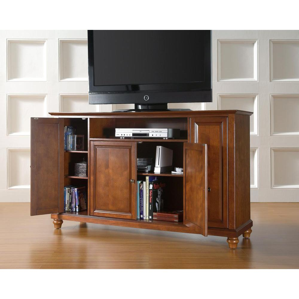 Crosley Cambridge Cherry (Red) Entertainment Center