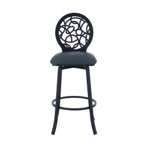 Awe Inspiring Armen Living Lotus Contemporary 30 In Bar Height Barstool Onthecornerstone Fun Painted Chair Ideas Images Onthecornerstoneorg