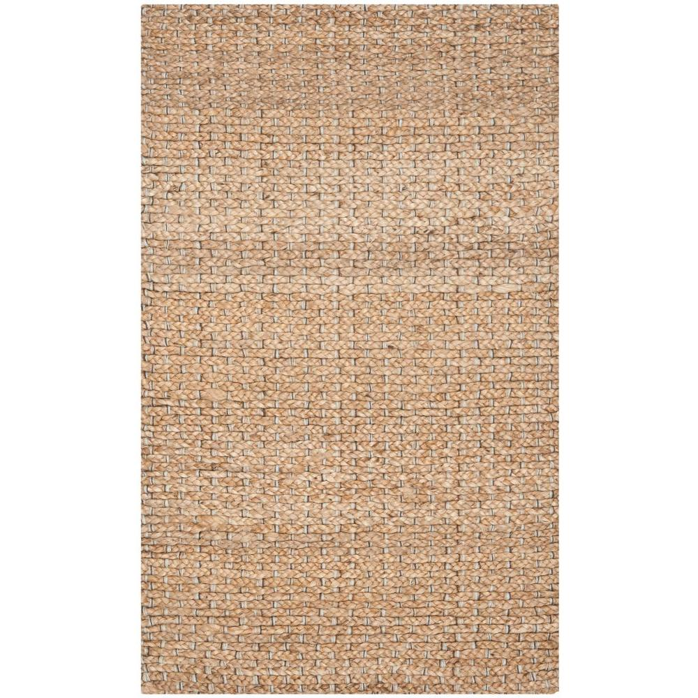 Natural Fiber Beige 2 ft. 6 in. x 4 ft. Area