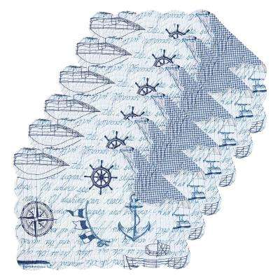 Fair Winds Blue Placemat (Set of 6)