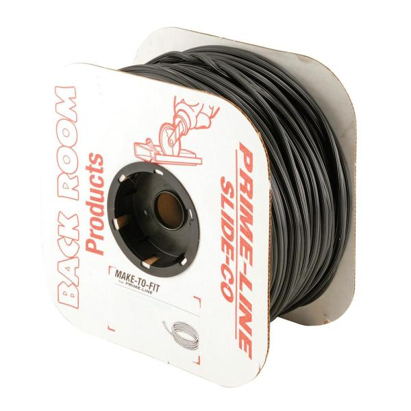 0.155 in. x 500 ft. Roll Black Spline