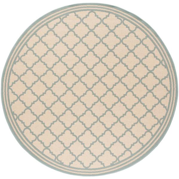 Indoor Outdoor Round Area Rug Bhs121l