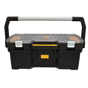 DEWALT 24 In. 2 In 1 Tote With Removable Small Parts Organizer DWST24075    The Home Depot
