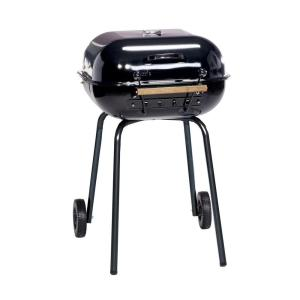Americana Swinger Charcoal Grill in Black by Americana