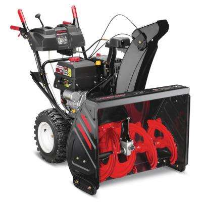 Arctic Storm 30 in. 357cc Two-Stage Electric Start Gas Snow Blowerwith Power Steering and Electronic 4-Way Chute Control