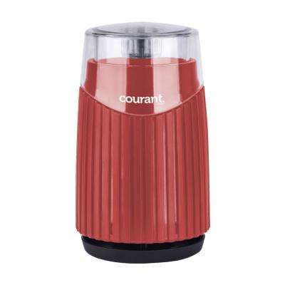 Coffee, Bean and Spices Grinder in Red