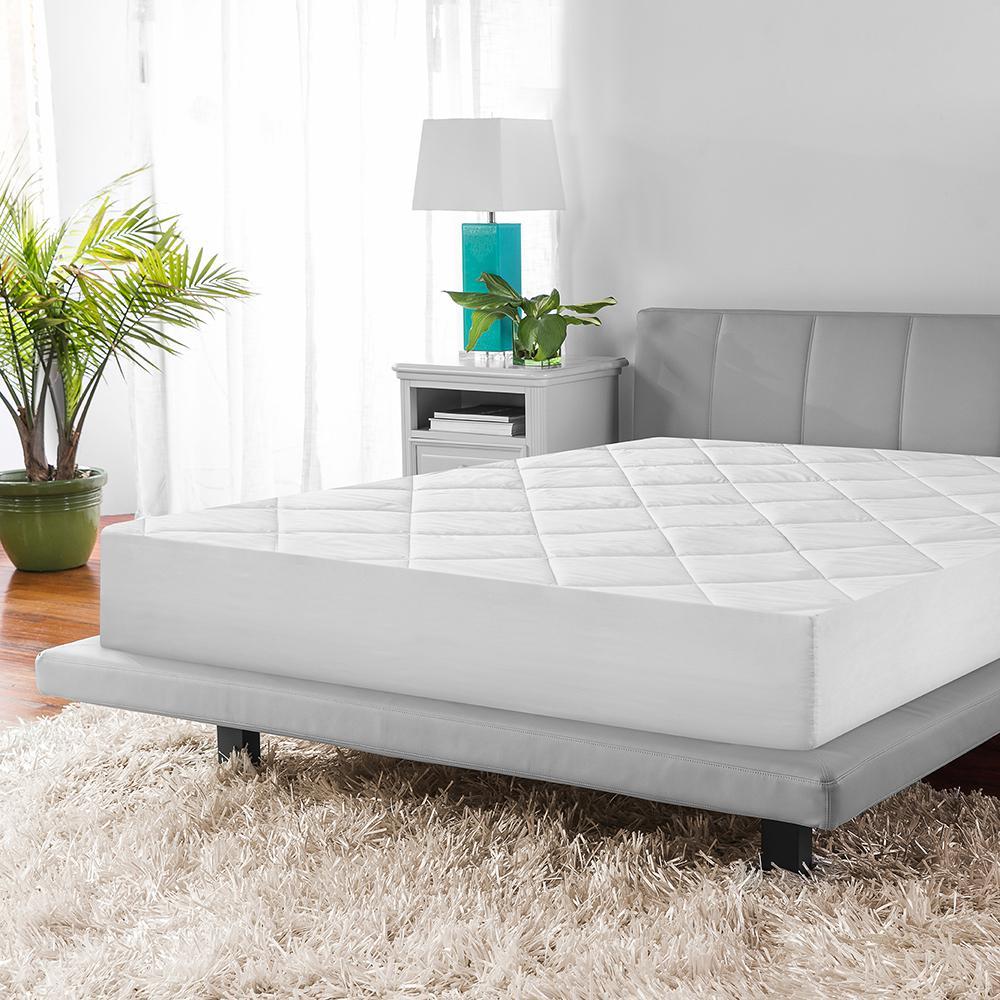 internet biopedic microshield twin mattress pad