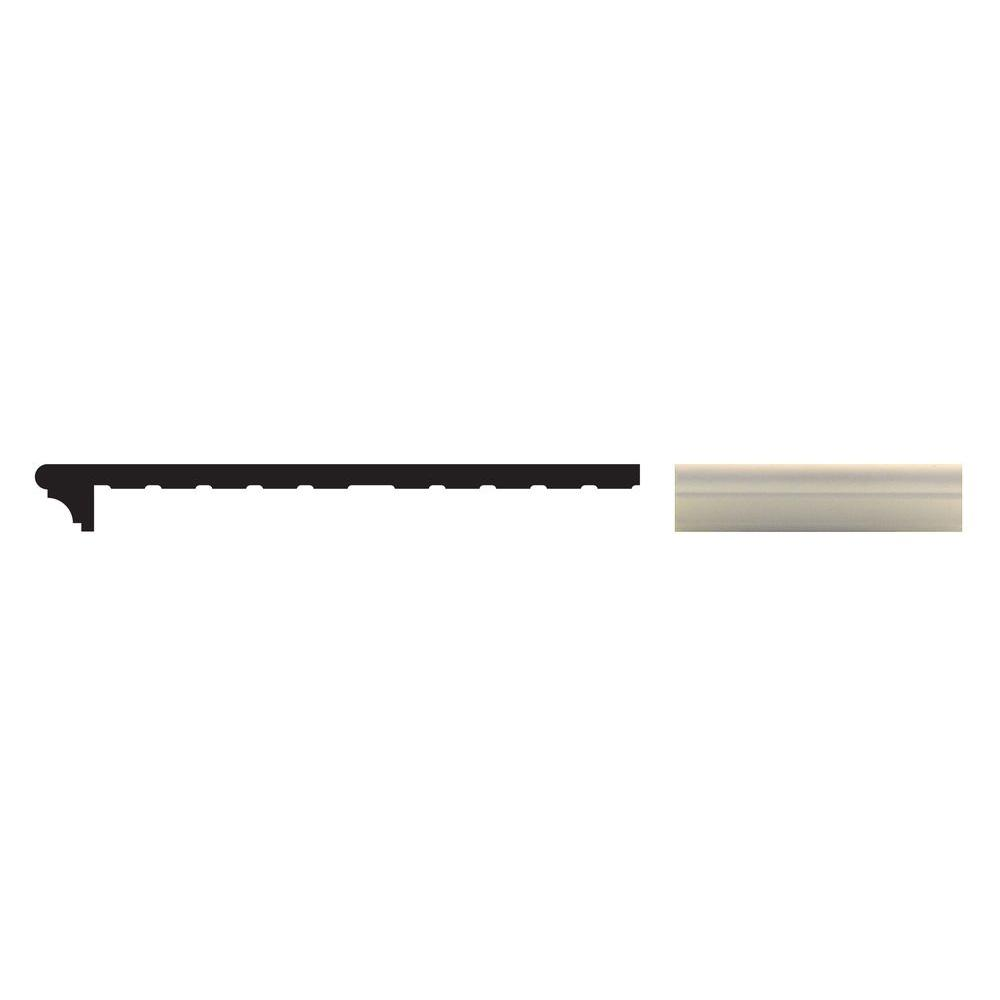 Sill Rite Standard Classic 8 In X 96 In X 1 In White Vinyl Window Sill P968c The Home Depot