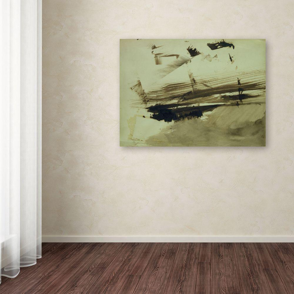 14 in. x 19 in. Evocation of an Island Canvas Art