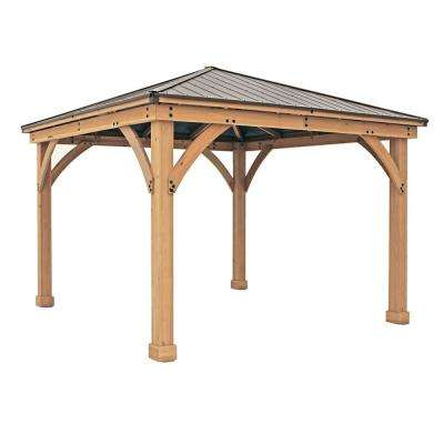 Yardistry 12 ft x 12 ft Meridian Gazebo