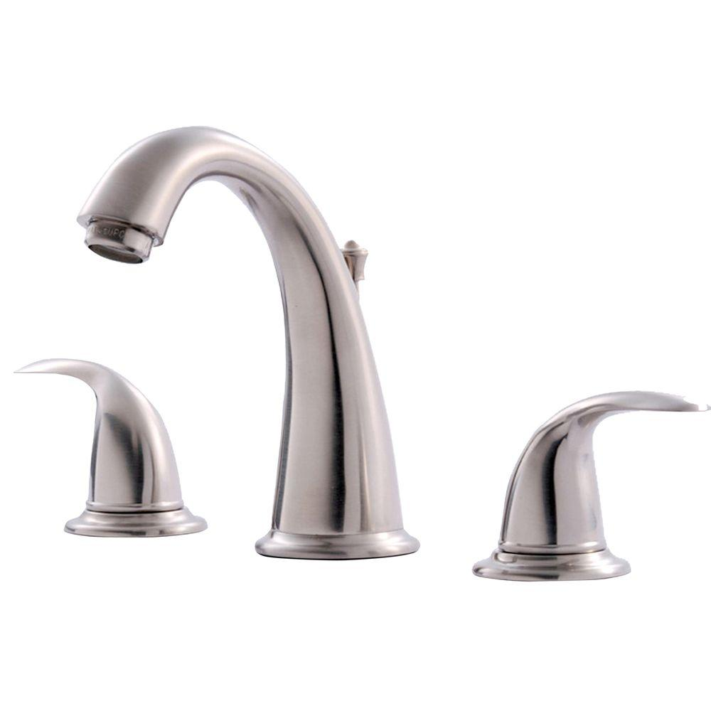 Vantage Collection 8 in. Widespread 2-Handle Bathroom Faucet with Pop-Up Drain
