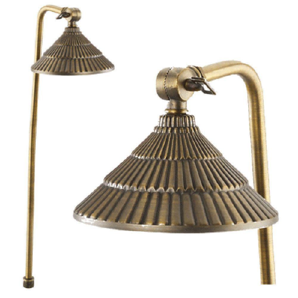 Best Quality Lighting 1-Light Antique Bronze Outdoor Path Light
