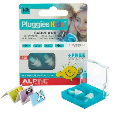 Pluggies Kids ThermoShape Earplugs