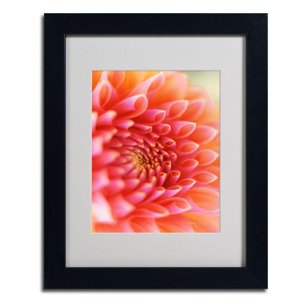 null 11 in. x 14 in. New Beginnings Matted Framed Art
