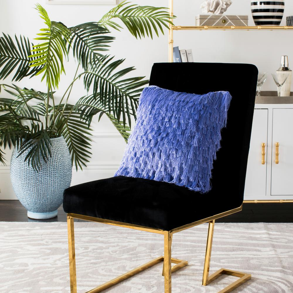 Safavieh Cali Shag Lilac Pillow (Set of 2), Purples/Laven...